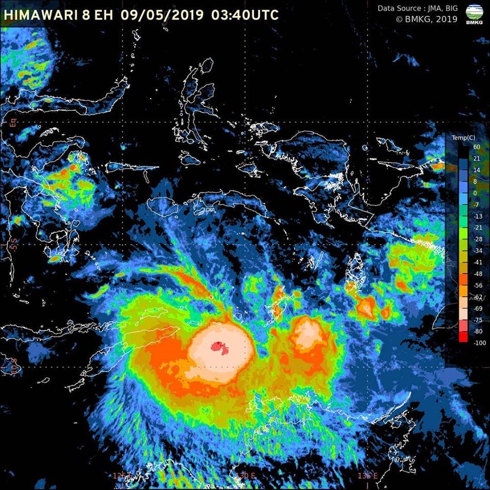 Berbagai Siklon Tropis Yang Ada Di Indonesia