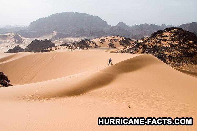 Debu Sahara Yang Terbang Menjadi Badai Hingga Ke Amerika
