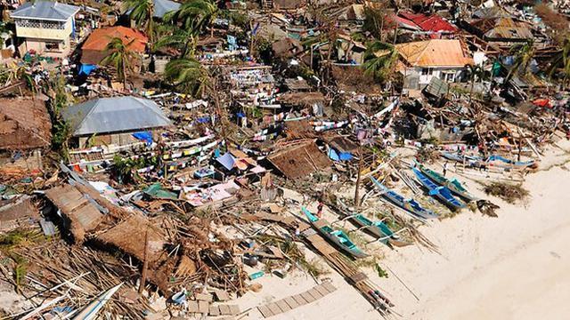 Apakah Kerusakan Yang Disebabkan Oleh Topan Haiyan Merupakan Dampak Dari Pemanasan Global?